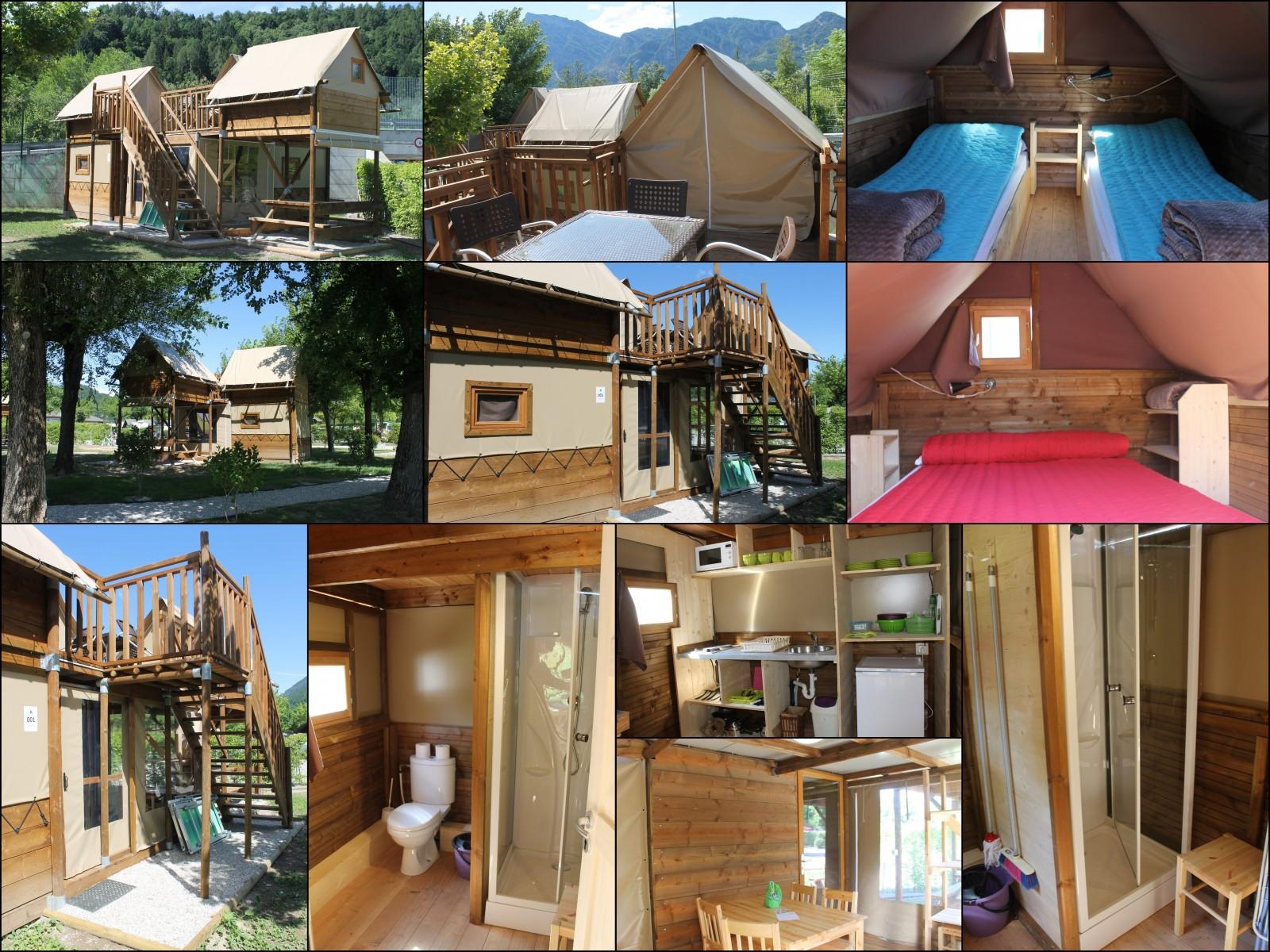 im einklang mit der natur: nachhaltiges glamping am lago di levico, Hause ideen